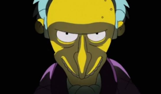 #1. Mr. Burns (Voiced by Harry Shearer), The Simpsons