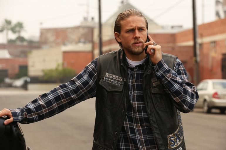 #6. Jax Teller (Charlie Hunnam), Sons of Anarchy