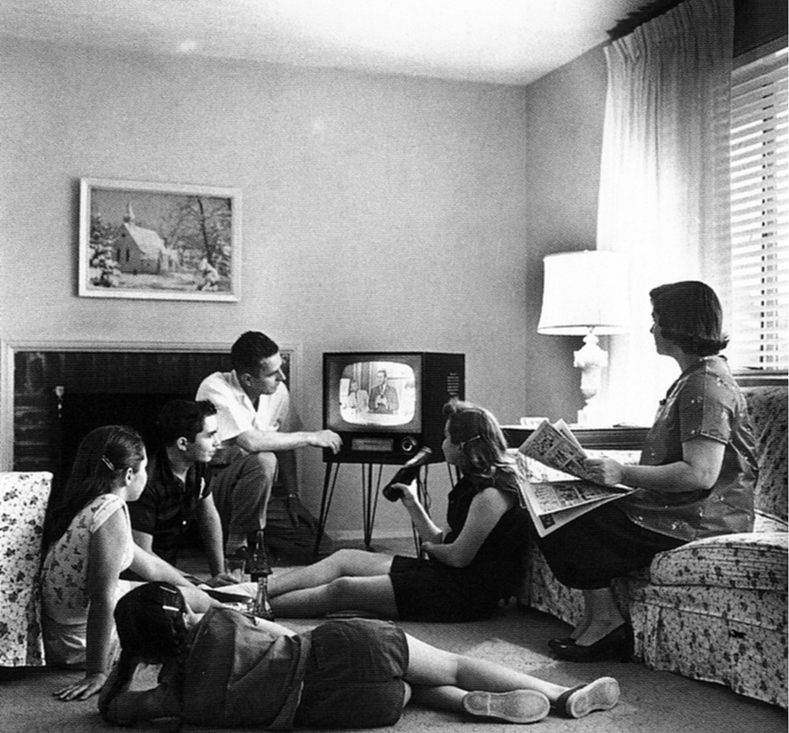 """Family Watching Television"" (Wikimedia / Creative Commons)"